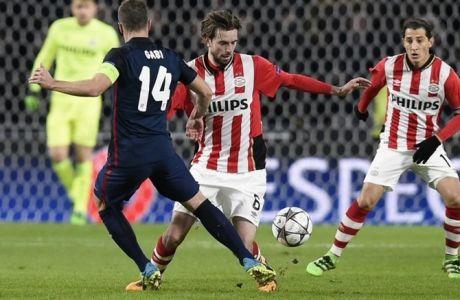 Αϊντχόφεν - Ατλέτικο Μαδρίτης 0-0