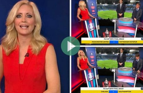 Οι Άγγλοι είδαν... παγωμένα μπαλάκια στην κλήρωση του Κυπέλλου Αγγλίας!