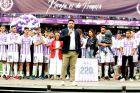 Ο Ρονάλντο και οι παίκτες της Βαγιαδολίδ σε εκδήλωση για τον Μπόρχα Φερνάντεθ.