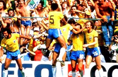 """Τα 11 γκολ της τρομερής """"σελεσάο"""" του 1982 (VIDEO)"""