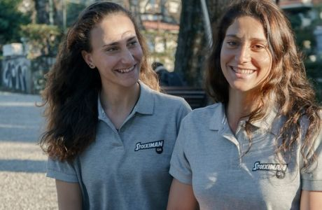 Οι Αννέτα και Μαρία Κυρίδου δεν φοβούνται πια τους καρχαρίες