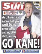 Και όμως: η Sun τόλμησε τέτοιο πρωτοσέλιδο για το Αγγλία-Κολομβία!