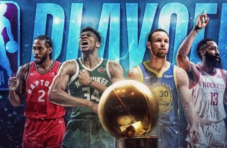 NBA Playoffs: Η Ανατολή είναι αυτή που 'καίγεται' φέτος