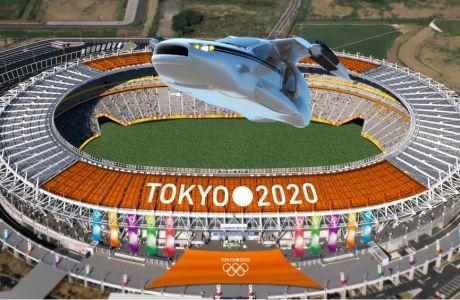Οι Ιάπωνες θέλουν να ανάψουν τη φλόγα με ιπτάμενο αυτοκίνητο!