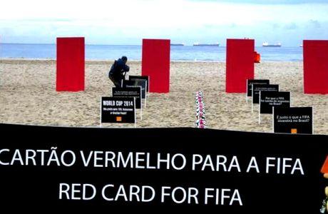 Κόκκινες κάρτες για τη FIFA στην Κόπα Καμπάνα