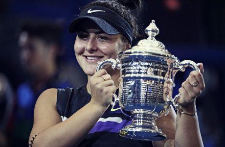 Η Μπιάνκα Αντρέεσκου κατέκτησε τον πρώτο τίτλο της σε τουρνουά major