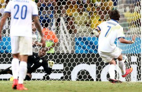ΑΚΟΥΣΤΕ περιγραφές από τα γκολ της Εθνικής (VIDEOS)