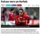 "Xάνει το Μουντιάλ ο Φαλκάο σύμφωνα με την ""L' equipe"""
