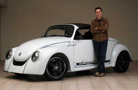Ο Έλληνας τεχνικός που έφτιαξε το σκαθάρι των ονείρων του και έκανε την Volkswagen να παραμιλά
