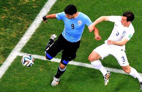 Oυρουγουάη - Αγγλία 2-1 (VIDEO)