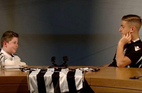 "H πιο ""γλυκιά"" συνέντευξη Έλληνα ποδοσφαιριστή που έχετε δει!"