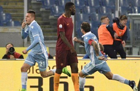 Προβάδισμα για τον τελικό η Λάτσιο, 2-0 την Ρόμα!