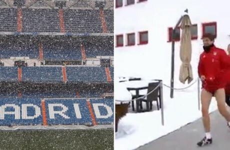 Χιονίζει στη Μαδρίτη και γλεντάει η Μπάγερν!