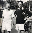 ο Λάζαρος Στάλιος με τον Γάλλο πρωταθλητή κόσμου Ανρί Κοσέ.