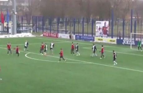 Απίθανο γκολ στην Λευκορωσία
