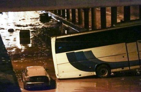 Η συγκλονιστική φωτογραφία του ΠΑΟΚ για τις πλημμύρες