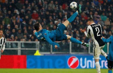 Είναι το ψαλιδάκι του Ρονάλντο το GOAL of The Week στο Champions League;