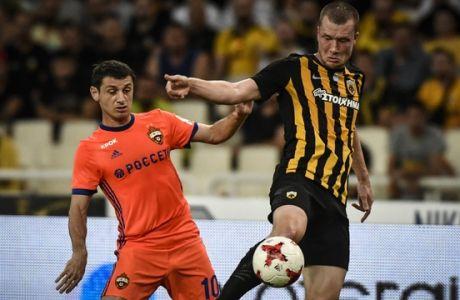 ÔÓÁÌÐÉÏÍÓ ËÉÃÊ / ÁÅÊ - ÔÓÓÊÁ ÌÏÓ×ÁÓ / CHAMPIONS LEAGUE / AEK - CSKA MOSCOW (ÁÍÔÙÍÇÓ ÍÉÊÏËÏÐÏÕËÏÓ / Eurokinissi Sports)