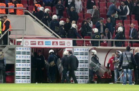 ΚΥΠΕΛΛΟ / ΟΣΦΠ - ΑΕΚ (ΒΑΣΙΛΗΣ ΜΑΡΟΥΚΑΣ / Eurokinissi Sports)