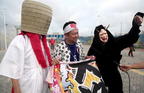 Photostory: Στιγμές από το Ελλάδα-Ιαπωνία