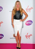 LONDON, ENGLAND - JUNE 19:  Victoria Azarenka attends the WTA Pre-Wimbledon Party presented by Dubai Duty Free at Kensington Roof Gardens on June 19, 2014 in London, England.  (Photo by Eamonn M. McCormack/Getty Images for WTA)