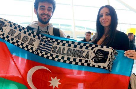 Μελαχρινή υποδοχή για ΠΑΟΚ στο Μπακού