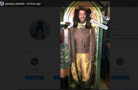 Ο Γιούρκας ανέβασε την πιο cult φωτογραφία του 2017 και μας... έστειλε!