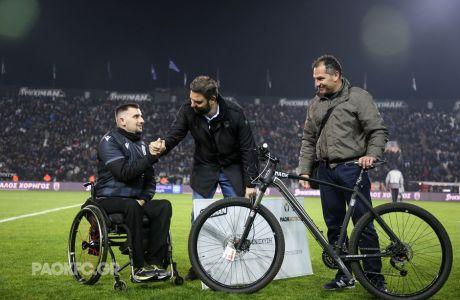 """""""Πράξη αλληλεγγύης για τον πρωταθλητή ποδηλασίας Μόδεστο Καπινά από την Stoiximan"""""""