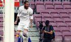 Ο Σέρχιο Ράμος πανηγυρίζει το γκολ που όρισε το αποτέλεσμα στο ντέρμπι με την Μπαρτσελόνα
