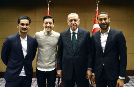 Ο Ερντογάν... παραβίασε τις σχέσεις Εζίλ - Γκουντογκάν με τη Γερμανία!