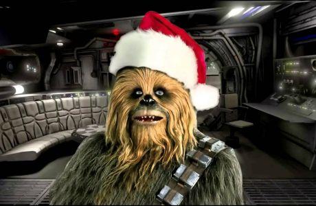 """Ο Chewbacca μας τραγουδά... """"Άγια Νύχτα""""!"""