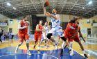BASKET LEAGUE / ΚΥΜΗ - ΔΟΞΑ ΛΕΥΚΑΔΑΣ (ΚΩΣΤΑΣ ΜΟΥΝΤΡΙΧΑΣ / Eurokinissi Sports)