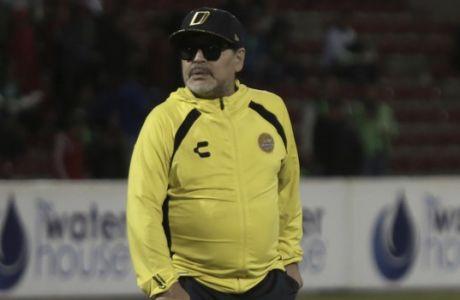 Ο Ντιέγκο Μαραντόνα έχει χάσει μιλιά και τελικούς στο Μεξικό