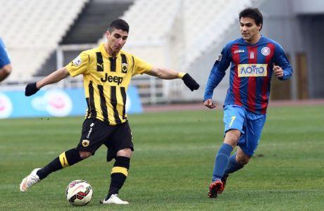 Πέναλτι η ΑΕΚ, 1-0 ο Μάνταλος (VIDEO)