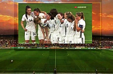 Και στο τέλος νικά η Γερμανία ακόμα και με νέο σύστημα στα πέναλτι!