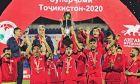 H κάτοχος του Super Cup στο Τατζικιστάν, μια από τις 18 χώρες του πλανήτη που δεν έχουν καταγράψει ένα κρούσμα κορονοϊού.