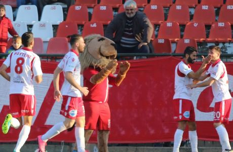 FOOTBALL LEAGUE / ΠΑΝΣΕΡΡΑΙΚΟΣ - ΠΑΝΑΙΓΙΑΛΕΙΟΣ (Eurokinissi Sports / ΤΣΟΥΤΣΑΣ ΛΑΣΚΑΡΗΣ)