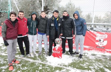 Ούτε το χιόνι σταμάτησε το Coca-Cola Cup!