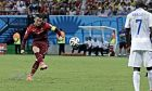 Ο Κριστιάνο Ρονάλντο της Πορτογαλίας σε στιγμιότυπο του αγώνα με τις ΗΠΑ για τη φάση των ομίλων του Παγκοσμίου Κυπέλλου 2014 στην 'Αρένα ντα Αμαζόνια', Μανάους, Κυριακή 22 Ιουνίου 2014