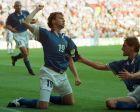 Ο Ενρίκο Κιέζα της Ιταλίας πανηγυρίζει γκολ κόντρα στην Τσεχία για τη φάση των ομίλων του Euro 1996 στο 'Άνφιλντ', Λίβερπουλ, Παρασκευή 14 Ιουνίου 1996
