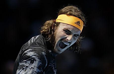 Ο Στέφανος Τσιτσιπάς θριάμβευσε στο Nitto ATP Finals