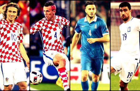 Αυτούς τους Έλληνες διεθνείς θα ήθελαν οι Κροάτες