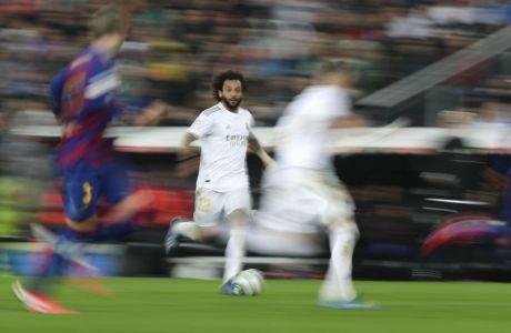 Αφού αξιολόγησε 14 προτάσεις από όλο τον κόσμο, η La Liga αποφάσισε να συνεργαστεί με την εταιρεία τεχνικού προγραμματισμού 'YinzCam' για να υλοποιήσει το πρότζεκτ 'Club App Platform'. (AP Photo/Manu Fernandez)