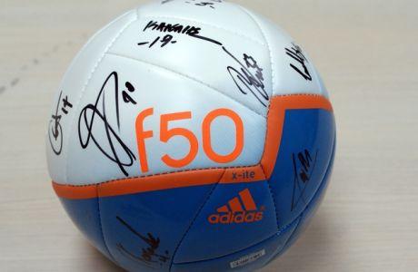 Δημοπρασίες αγάπης 2014: Μπάλα με τις υπογραφές των παικτών του Παναθηναϊκού