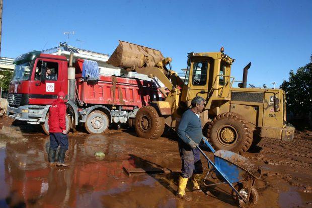 Για 5η συνεχόμενη ημέρα ο Ολυμπιακός στηρίζει τους πλημμυροπαθείς