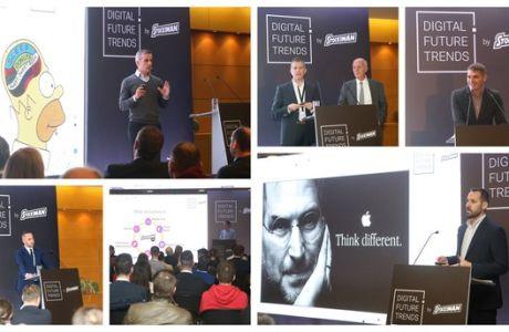 Οι τεχνολογικές εξελίξεις στο επίκεντρο του Digital Future Trends, ημερίδας που διοργάνωσε η Stoiximan, στο πλαίσιο του Thessaloniki Summit