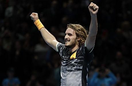 Ο Στέφανος Τσιτσιπάς έχει μόλις κατακτήσει το ATP World Finals, τον Νοέμβριο του 2019