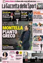 """Ο ελληνικός τίτλος της """"Gazzetta dello Sport"""" για το... δράμα του Μοντέλα!"""
