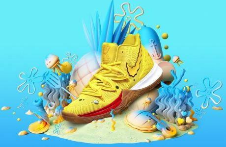Kyrie 5: Tα sneakers - αποτέλεσμα της συνεργασίας Κάιρι Ίρβινγκ - Nike και Nickelodeon