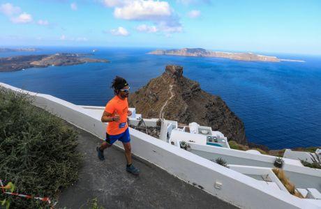 Trail Running @ Santorini Experience
